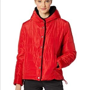 NWT Large SANCTUARY 12 Puffer Jacket *REVERSIBLE
